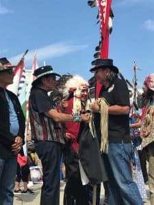 Dennis Banks goes to the spirit world - American Indian Movement leader