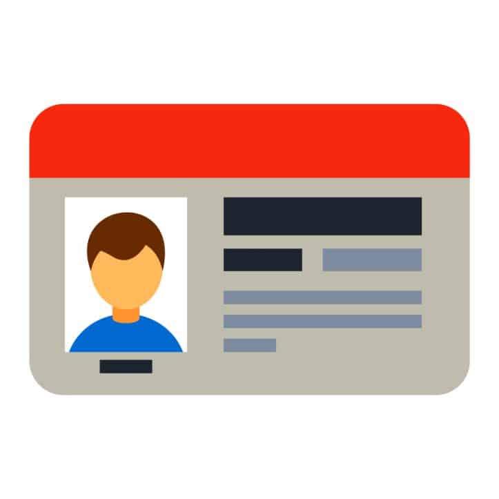 Fairfax drug lawyer- Image of driver license