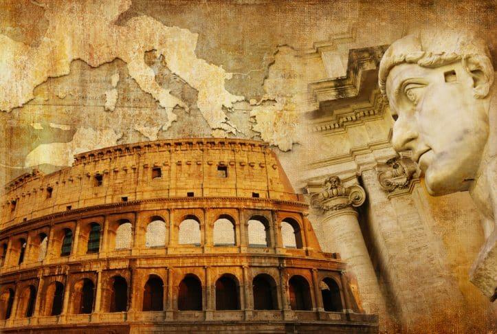 Criminal defendants' friends- Image of the colosseum
