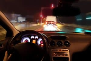 DUI defense in Fairfax County - Fairfax County criminal lawyer pursuing your best defense against felony, misdemeanor, DWI, drug & marijuana cases - Image from vehicle interior