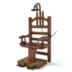 Executing non-shooters should be barred says Fairfax criminal lawyer- Photo of electric chair