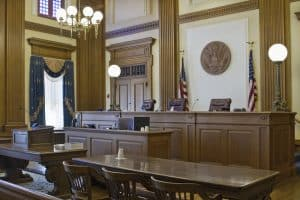 Evening odds with an attorney- Fairfax criminal defense lawyer weighs in- Photo of courtroom