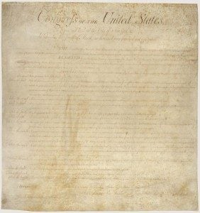 Searching when one occupant objects- Fairfax criminal lawyer weighs in- Image of Bill of Rights