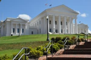 Special Virginia legislative session addressed by Fairfax criminal lawyer- Photo of Virginia State Capitol