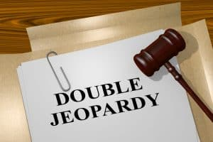 Image of document stamped double jeapardy