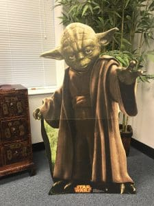 Naysayers may neigh- Fairfax criminal lawyer on winning- Yoda standee