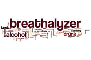 Unreasonable DUI alcohol test refusal - Ideas from Fairfax Criminal Lawyer - Image of breathalyzer word cloud