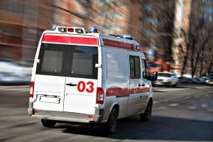 Massacres and mass violence this month - A criminal lawyer's view - Image of ambulance