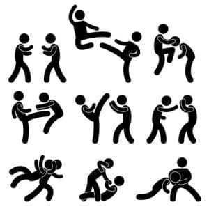Martial arts prosecution- Fairfax criminal lawyer on the risks - Image of martial arts practice