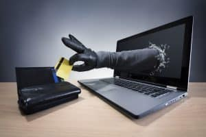 Larceny defense in Virginia addressed by Fairfax criminal lawyer - Image of credit card theft