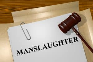 Jury instructions- Image of paper with the word manslaughter