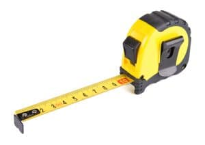 Jury plan approved for Fairfax- View of Virginia criminal defense lawyer- Photo of tape measure