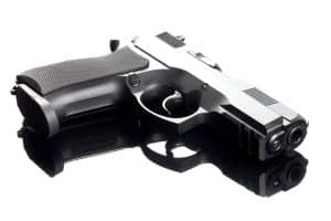 Challenge all police searches says Fairfax criminal lawyer- Photo of 9mm handgun