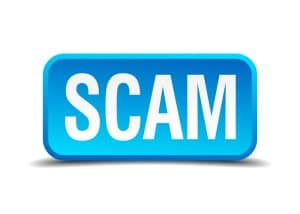Extortion impossible with unthreatened payoff says Fairfax criminal lawyer- Scam image
