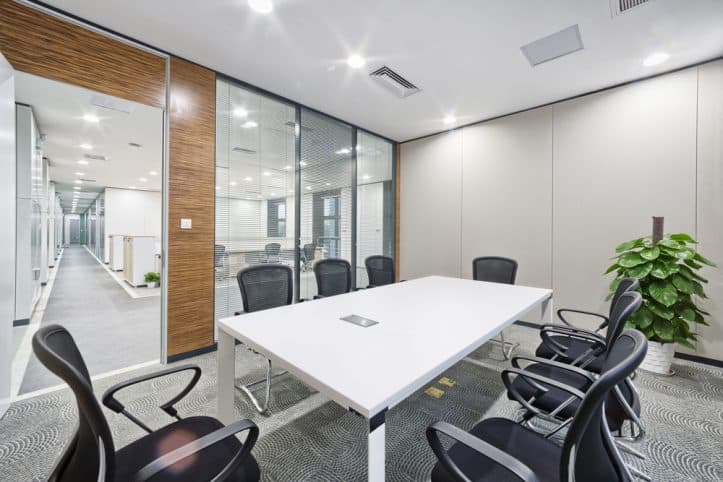 Consult a lawyer- Image of conference room