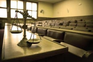 Courthouse ways addressed by Fairfax DUI lawyer - Courtroom image