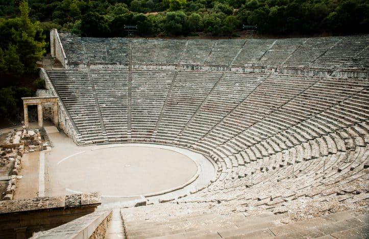 Criminal defense persuasion- Image of amphitheater in Epidaurus