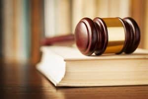 Virginia sentencing must only be by jury at a defendant's asking- Speak out- Photo of gavel and book