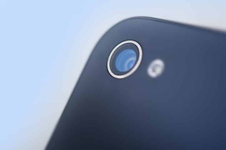 Fairfax arrest incident - Photo of cellphone camera