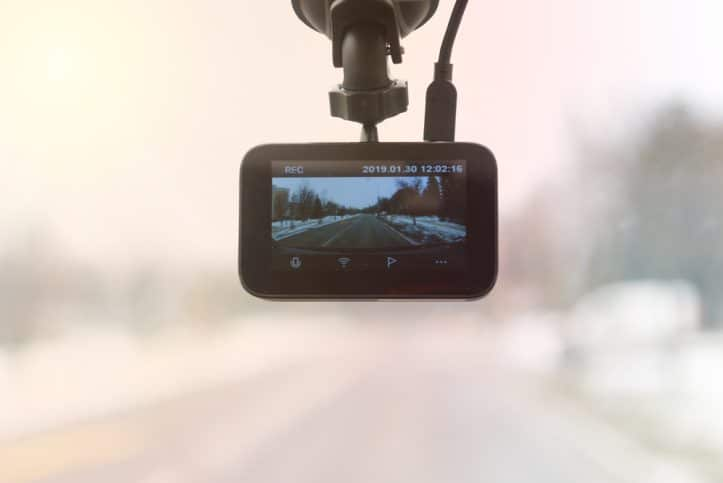 Fairfax convictions from a rogue police officer - Image of dashcam viewer