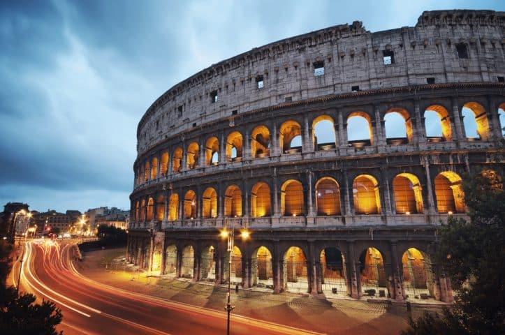 Battling fully- Image of Roman Colosseum