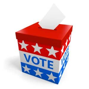 Prosecutorial challengers versus status quo- Fairfax criminal lawyer's view - Image of ballot box