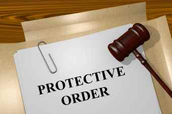 Protective order violations with injury- Fairfax criminal lawyer comments- Photo of protective order