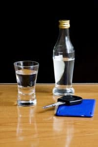 Vital information sought by your Fairfax DUI lawyer- Photo of liquor and car key