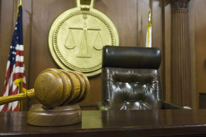 Fairfax DUI court- Photo of judge's bench