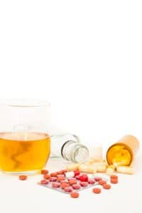 Fairfax blood DUI defense- Virginia DWI lawyer on BAC draw defense- Photo of alcohol and drugs