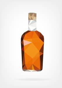 Fairfax DUI case results in Virginia wet reckless after full trial readiness- Liquor bottle photo