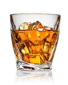 Alcohol consumption- Image of glass of liquor