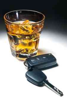 Virginia DUI challenges by appeal addressed by Fairfax criminal lawyer- Photo of keys and alcohol